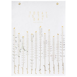 Paper & Poetry. Pick me calendar