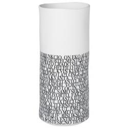 Nigra/Blanka Vase. words small dia:7,5cm Height:17,5cm