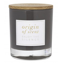 Scented candle Silence Vanilla Charcoal
