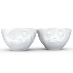 Mid-sized bowls  Set No 3 - Tasty & Snoozy 200ml