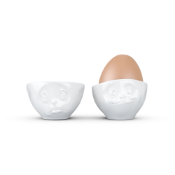 Egg Cup Set No.2 - Oh please/Tasty