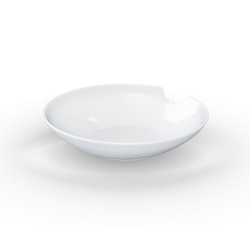 2 Small Deep Plates with bite Ø 18cm