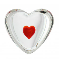 Glass hearts Assortment 45 pcs. / 9 designs