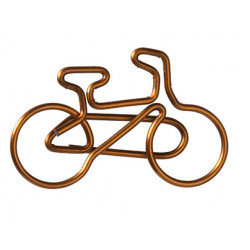 Paper clips. Bicycle Set of 15 pcs