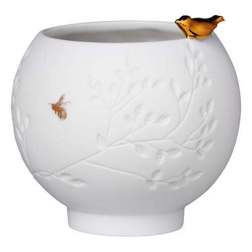 Porcelain story Bird Bowl height: 7,4cm