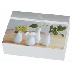 Mini Vase Set of 4 pcs Height:4 -8cm, dia:4 -5cm