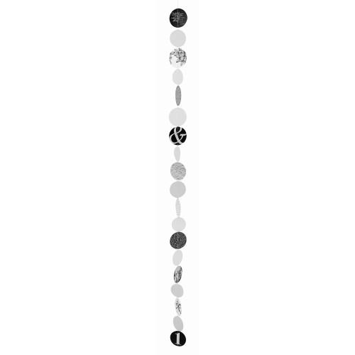Nigra/Blanka Chain of circles small Length:115cm