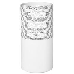 Nigra/Blanka Vase. dots dia:12.5cm Height:25.5cm