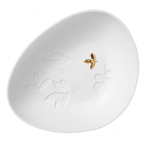 Small porcelain bowl 11x9x2,5cm