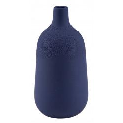 Pearl vase Design 4 Indigo blue dia.5,5cm Height:11,5cm