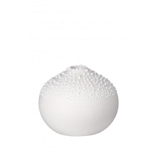 Pearl vase white Assortment 10pcs (2pcs each design)