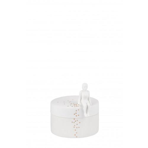 Jar confetti dia:10cm height:11cm