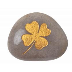 Lucky stones assortment 40pcs (cloverleaf and heart)