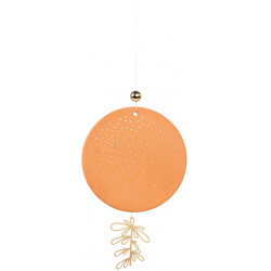 OUTDOOR terracotta ornament dots, dlarge dia:13cm