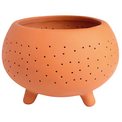 OUTDOOR terracotta tealight small dia:6,5cm Height:4,5cm
