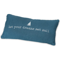 Dream pillow Let your dreams 33x17cm