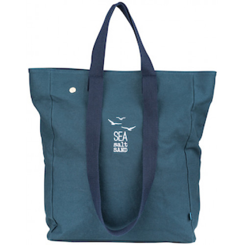 Beach bag Sea Salt Sand navy. 32x12x40cm