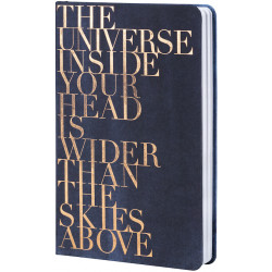 Notebook The universe 12x20,5x2cm