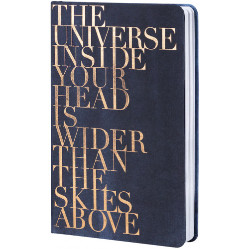Notebook The universe 12x20.5x2cm