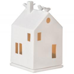 Light house birdhouse 7x7x13cm