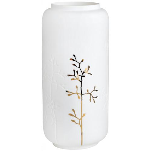 Gold twig vase Dia.10,5cm Height:21,5cm