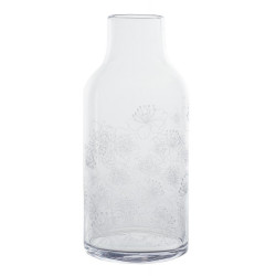 Glass vase blossoms Dia:13.5cm Height:30cm