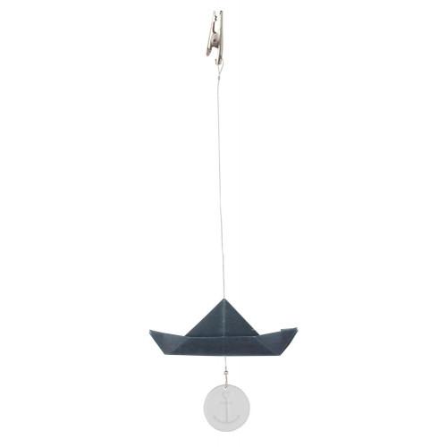 Boat clip . navy L:26cm