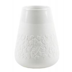 Porcelain vase floral gingko Dia:8.5-13cm Height:18cm