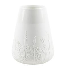 Porcelain vase floral meadow Dia:8.5-13cm Height:18cm