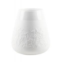 Porcelain vase floral flowers Dia:15.5-24cm Height:26.5cm