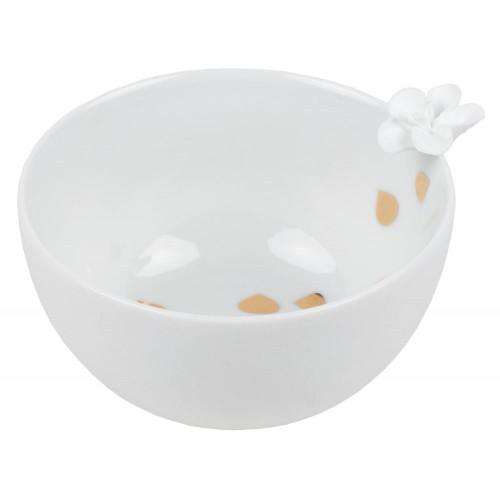 Porcelain tales bowl Flower D:9cm H:5.5cm