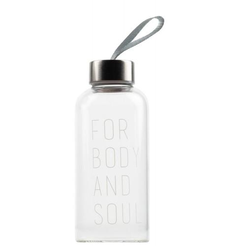 Bottle 500ml For body and soul.D:7cm H:17cm