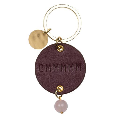Key chain Ommmmm Dia:4.5cm