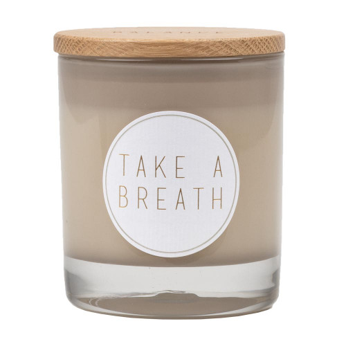 Scented candle Take a breath D:8cm H:9cm