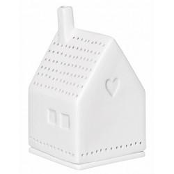 Xmas light house. Heart