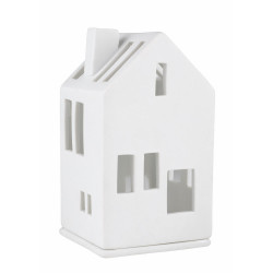 Mini light house residential house 6x6x11cm