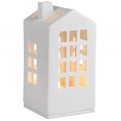 Mini light house town halle 6x6x12.5cm