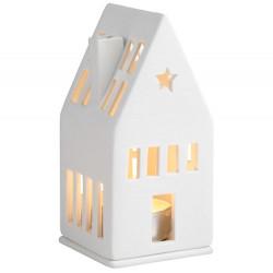 Mini light house dreamhouse 6x6x13cm