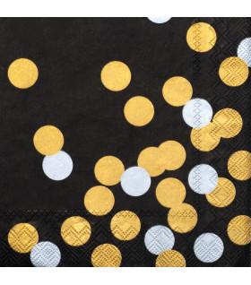 Napkin 33x33cm dots
