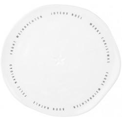 Plate Merry Christmas