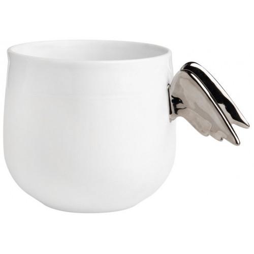 Porcelain tales cup angel wings D:9.5cm H:8.5cm