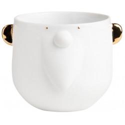 Porcelain tales cup Santa D:9.5cm H:8.5cm