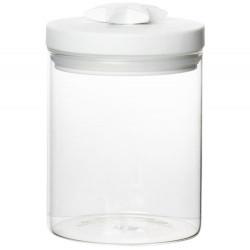 Lovely glass jar star D:9.5cm Height:14cm