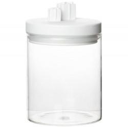 Lovely glass jar presents D:9.5cm Height:15cm