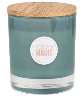 Scented candle Magic H:9cm D:8cm