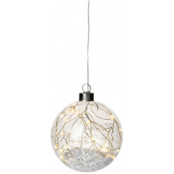 Light bauble. LED. Small. Merry Christmas