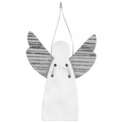 Guardian angel mini heart stamped 4,5x5,5cm