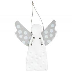 Guardian angel mini dots stamped 4,5x5,5cm