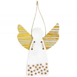 Guardian angel mini dots gold 4,5x5,5cm