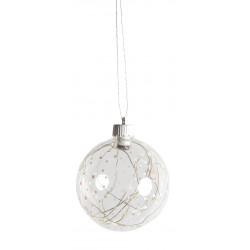 Wonder sphere LED light ball dots, D:10cm 3xLR44